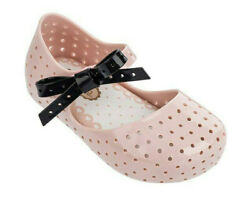 New Mini Melissa Mini Furadinha X Mary Jane Flats Sz 9 $32.00