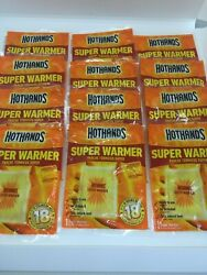 HotHands Body and Hand Super Warmer - Pack of 12 Pieces New $14.99
