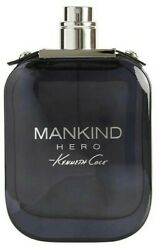 Tester Men Kenneth Cole Mankind Hero by Kenneth Cole 3.4 oz New No Cap $25.75