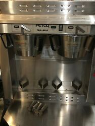 Fetco CBS 62H Stainless Steel Twin Automatic Coffee Brewer 120 208 240V $895.00