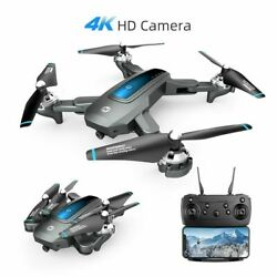 Holy Stone HS240 4K Drone HD Camera FPV Live video Foldable RC Quadcopter Selfie $65.99
