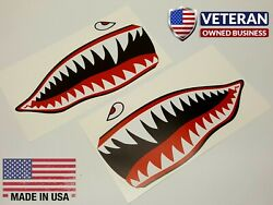 WWII Flying Tiger Warhawk P 40 Stickers Decals Shark Mouth US Air Force $6.99