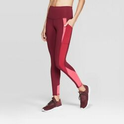 Women#x27;s c9 Champion High Waisted Colorblock Leggings $12.00