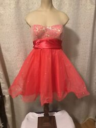 Speechless Coral formal Party dress size 3 $29.99