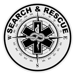 Search And Rescue SIZE Vinyl Decal Sticker Car Truck Laptop Wall $11.80