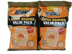 HotHands Body & Hand Super Warmers - Long Lasting 20 ct 2 10 ct bags $15.99