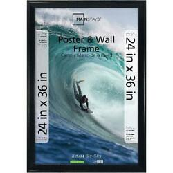 Poster and Picture Frame 24x36 Black $26.76