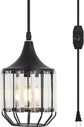 YLONG ZS Hanging Lamps Swag Lights Plug in Pendant Light 16 FT Cord and Chain Ha $49.99
