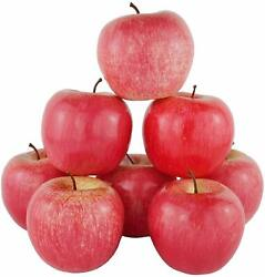 6Pcs DecoratIve Artificial RED APPLE Fake Fruit Food Kitchen Home Party Decor US $8.27