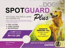 3 Doses Generic Frontline Plus for XL Dogs 89 132 lbs Flea Tick 3 Month Supply $17.75