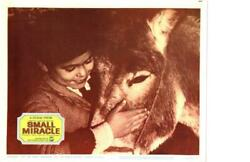 Small Miracle 1966 Re Release Lobby Card Never Take No For An Answer $3.00