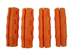 4 pc Orange SNAPPY GRIP - Bucket Handles -Mining-Farming-Gardening-Painting $6.95