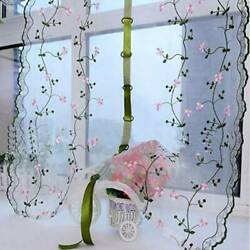80 * 100 Roman Blinds Small Floral Curtain Homeliving Small Bedroom Lifting YS $8.97