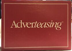 Vntg 1988 Adverteasing Board Game~The Game Of Slogans Commercials  $12.99