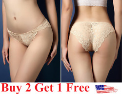6 colors ☆USA☆ Sexy Women Lace Thong G-string Panties Lingerie Underwear  T-back $3.99