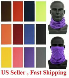 Face bike Mask Sun Shield Neck Gaiter Balaclava Neckerchief Bandana Headband  $3.99