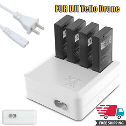 4 in 1 Multi Battery Charger Hub US Plug For DJI Tello Drone RC Quick Charging $20.00