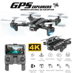 2020 Drone 4K 1080P HD Dual Camera Follow Me Quadcopter FPV Professional GPS $145.99