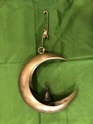 Bronze Hanging Antique with Original Bell and Monkey Hanger $179.00