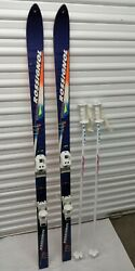 Rossignol R 6000 Base Skis 3 TI with M27 Twincam Markers and Leki Poles bag $69.99