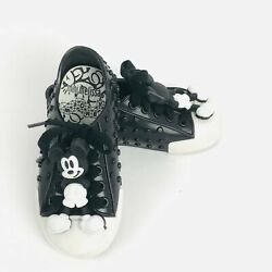 Mini Melissa Mini Polibolha Mickey Mouse Kids Shoes Sz 8 Authentic Fast Ship $44.50
