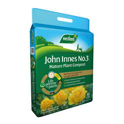 Westland John Innes No 3 Mature Plant Compost with 4 Month Feed 10L Bag $8.56
