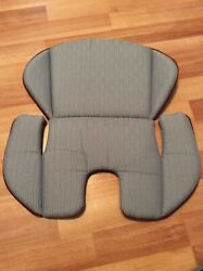 Evenflo Maestro Car Seat Cushion Body Rest Part Replacement Silver Burgundy $14.99