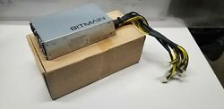 Bitmain Power Supply APW3 PSU for Antminer ASIC Miner S9 L3 D3 A3 T9 1600W $45.00