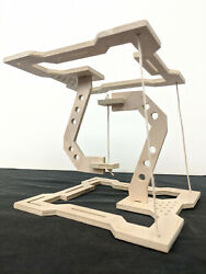 Tensegrity Tension Sculpture - Industrial Style Wooden Physics Desk Art Puzzle  $29.95
