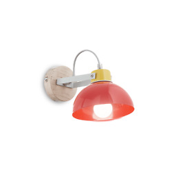 Wall Light Lamp Modern for Kids Bedroom Red Sky Blue Colorful $30.76