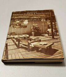 Guide for Outdoor Building amp; Maintenance Meyers Demske Hardcover 1977 #1874