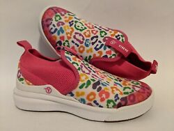 Vans New XtremeRanger Rainbow Leopard Fuchsia Purple Girl#x27;s Size USA 13 $24.99