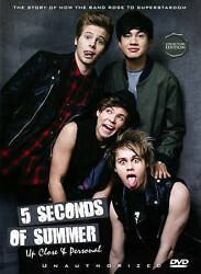 5 Seconds of Summer: Up Close Personal Unauthorized DVD 2014 NEW $8.69