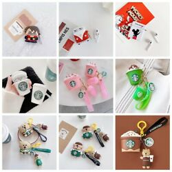 AirPods PRO Case Silicone Cute Cartoon 3D Cover Protective for Apple Airpod 3 $10.99