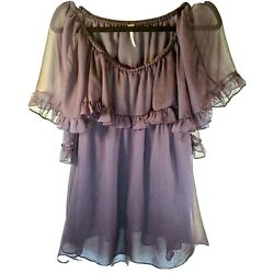 Free People Mini Baby Doll Dress or Tunic Oversized Small MSRP $148 $49.00
