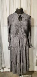 Michael Kors Tiered Maxi Dress Size 1X $50.00