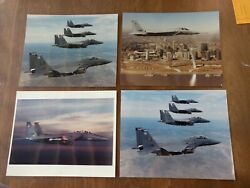 4 Photos Fighter Planes I Believe F 18 McDonnell Douglas Helicopter Systems $17.99