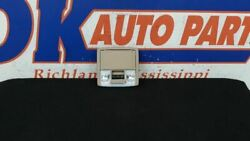10 FORD F150 FRONT ROOF OVERHEAD CONSOLE TAN