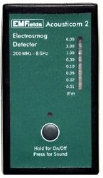 Acousticom2 RF meter measures phones towers WiFi RF EMF. FREE SHIPPING IN USA $200.00