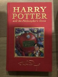 HARRY POTTER and The Philosopher's Stone Bloomsbury Deluxe J.K. Rowling