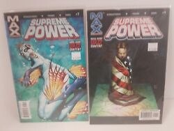 Marvel Max Comics Supreme Power Issues 1 7 $5.00