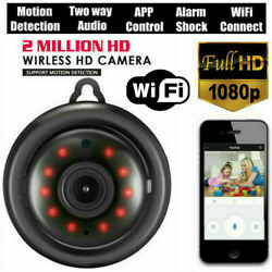 Mini Wireless WIFI IP Camera HD 1080P Smart Home Security Camera Night Vision $15.95