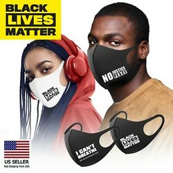 BLACK LIVES MATTER Face Fashion Mask Washable Reusable Fabric Cover FLOYD #BLM $7.99
