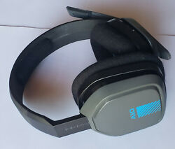 USED Gray Blue ASTRO Gaming A10 Wired HEADSET ONLY for PS4 PC Mac XBox One $21.99