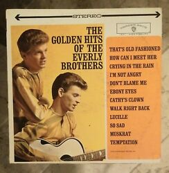 Vinyl LP The Golden Hits Of The Everly Brothers Album Music $4.50