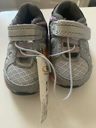 C9 by Champion Impact Infant Baby Girls Sneakers Grey Pink Shoes Sz 2 NWT $16.95