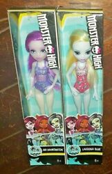 Monster High Swimsuit Edition: ARI HAUNTINGTON amp; LAGOONA BLUE 11quot; Dolls $28.95