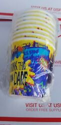Vintage 1995 RL STINE Goosebumps 8 Party cups 7 fl oz new party express $10.00