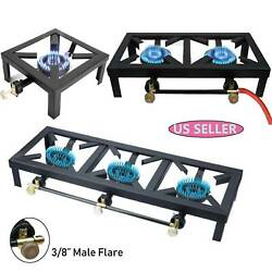Portable Propane Cooker Burner Stove Gas Outdoor Cooking Camping Stand BBQ Grill $46.00
