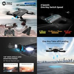 Holy Stone HS160 Professional RC Foldable Drone 720P HD Camera  FPV Live Video $89.49
